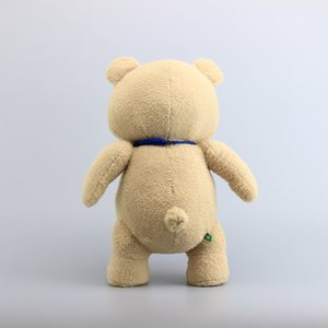 """Image 4 - 18"""" 45CM Teddy Bear TED Plush Toys with Blue Tie Pirate Teddy Soft Stuffed Dolls Toy Children Gifts"""