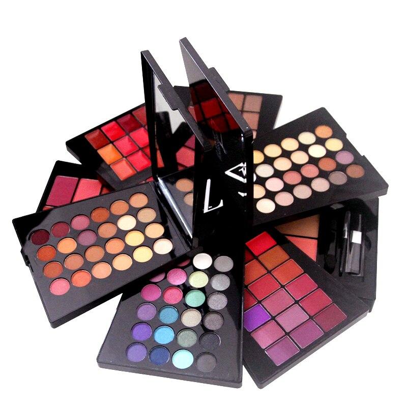 ZD 132 Colors Cosmetics Make up Set Eyeshadow Makeup Lip Gross Cream for Cheeks and Lips Creamy Eyeliners Blusher Tool Kit F2061 степлер мебельный gross 41001