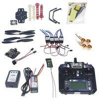 Полный комплект Радиоуправляемый Дрон Квадрокоптер 4 ось самолета комплект F330 MultiCopter Рамка KK XCOPTER V2.9 управления полетом Flysky FS i6 f02471 J