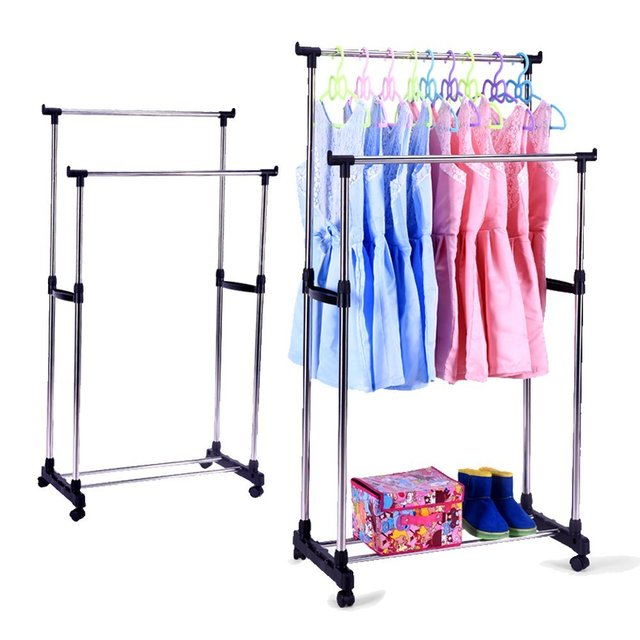 sing hokeeper lbs amazon rail rack com duty commercial load grade adjustable racks garment clothing dp capacity collapsible heavy