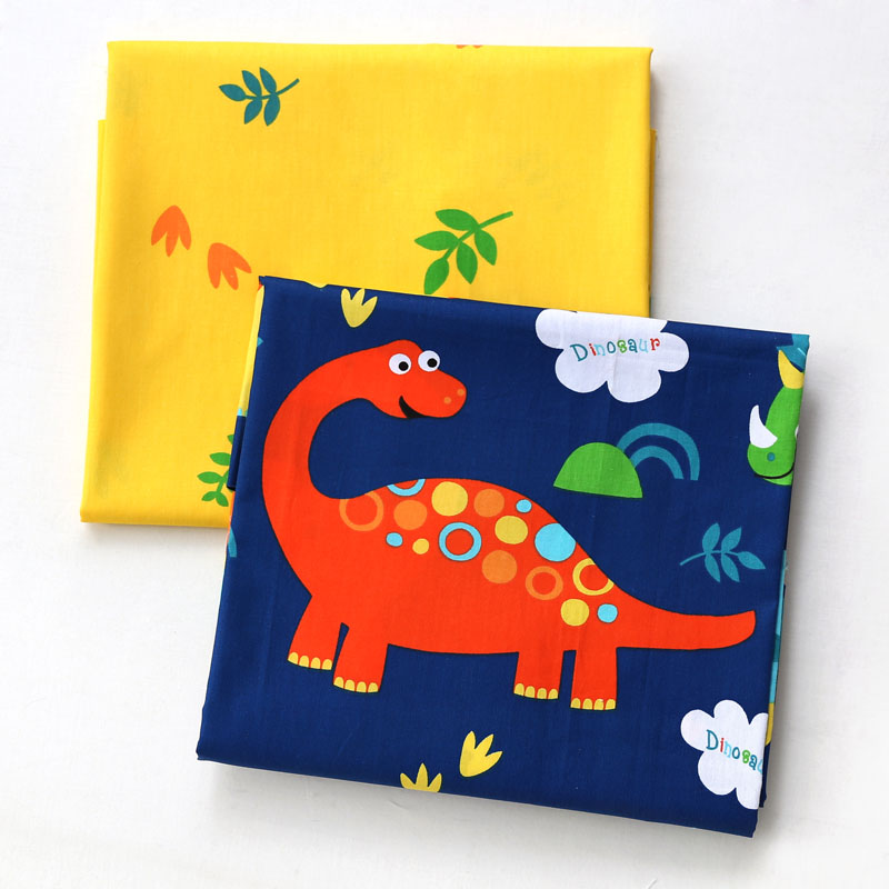 Cartoon Kids 100% Cotton Twill Fabric,Patchwork Cloth,DIY Sewing Quilting Fat Quarters Material For Baby&Child
