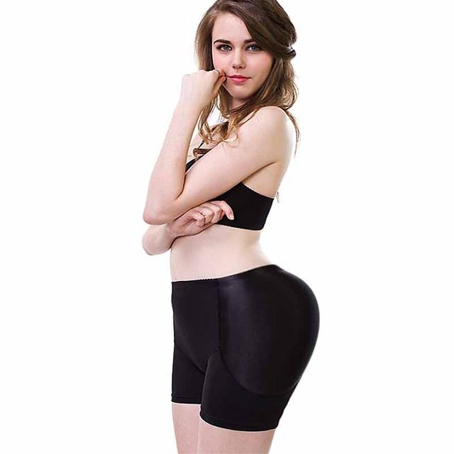 Nueva Butt Lifter Enhancer Talladora Caliente Bragas de Control con el Entrenador de Glúteos Shapers Tummy Talladora de La Ropa Interior de La Cintura de La Cadera para Las Mujeres