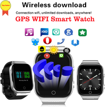 high quality 3G WIFI GPS Smart Watch Android5.1 1.3G 16GB SIM Card Bluetooth 4 Camera 1.54 Inch Men Women Child phone call Watch все цены