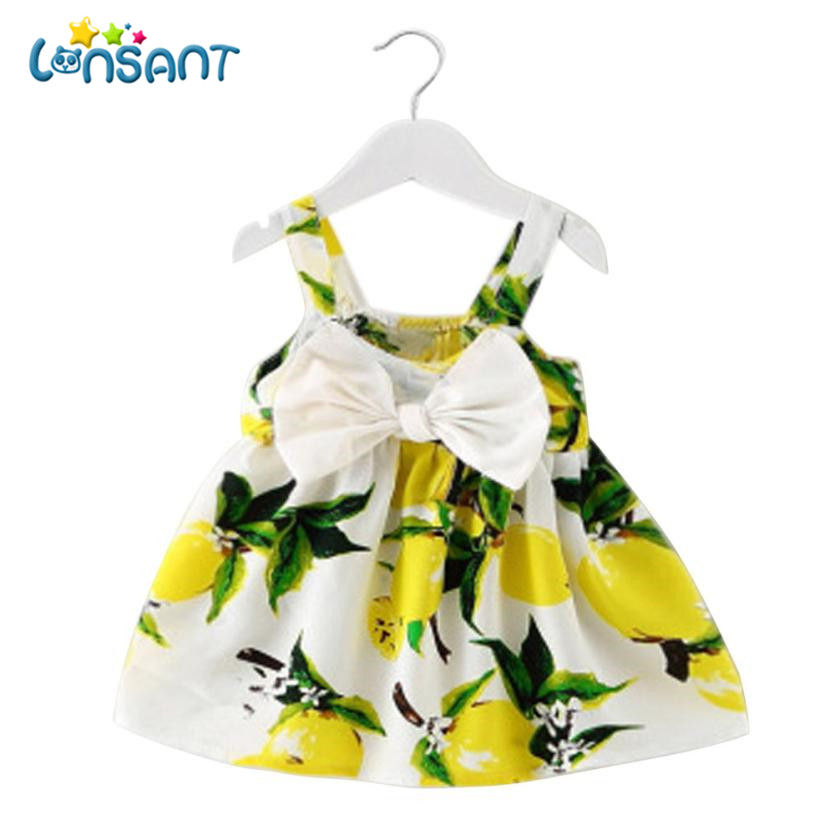 LONSANT Summer 2018 Girls Dresses Girls Sleeveless Vestidos A Line Print Cotton Children Clothes Baby Girl Dress Dropshipping-in Dresses from Mother & Kids on Aliexpress.com | Alibaba Group