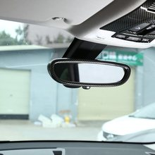 ABS интерьер зеркало заднего вида рамка Крышка отделка автомобиля аксессуары для Bmw X1 F48- 1 серия F20 2011- 1 шт