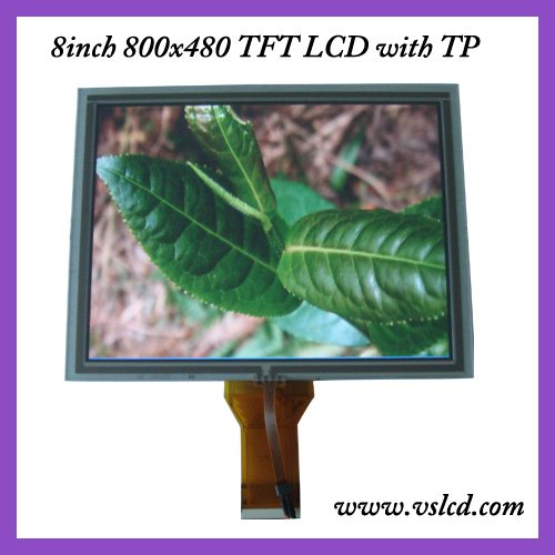 8inch tft lcd display LCM AT080TN52 with touch panel 800*600 resolution thickness 5mm 8 tft for Car DVD with touch screen круглая удлиненная кисть блендер для макияжа глаз 242