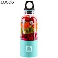 LUCOG 550ml Portable Electric USB Juicer Cup Rechargeable Orange Citrus Lemon Fruit Juicer Blender Juice Smoothie