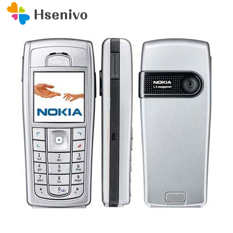 Original Unlocked Nokia 6230 6230i 850mAh Support Russian Keyboard & Arabic Keyboard Cellphone Free Shipping