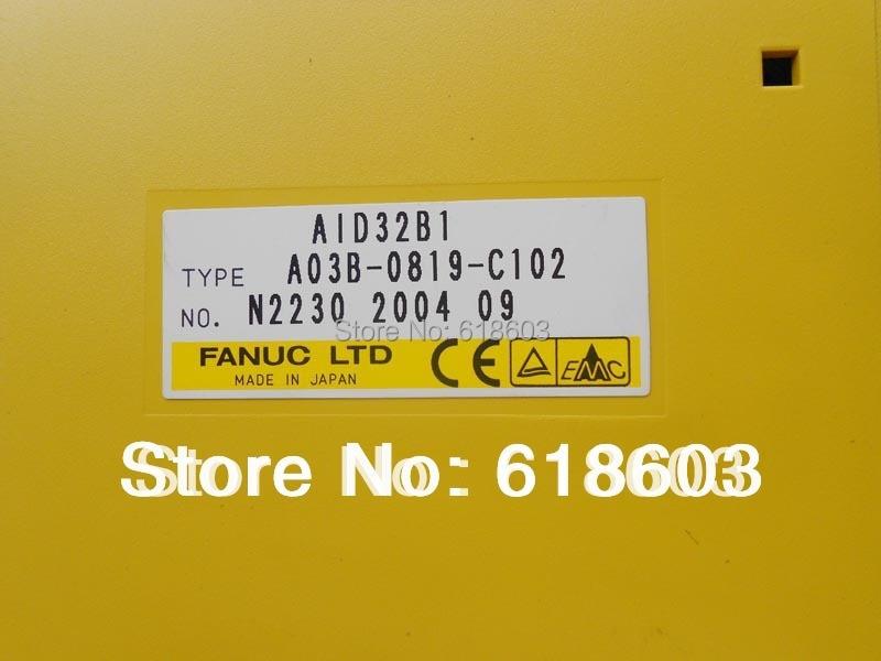 FANUC OUTPUT MODULE A03B-0819-C155