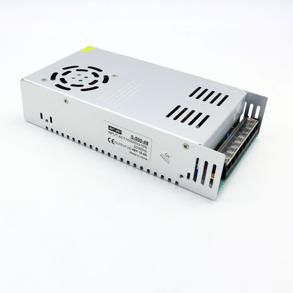 500 W transformador AC 220 V a 48 V Led fuente de alimentación 500 W SMPS Industrial mecánica envío gratis