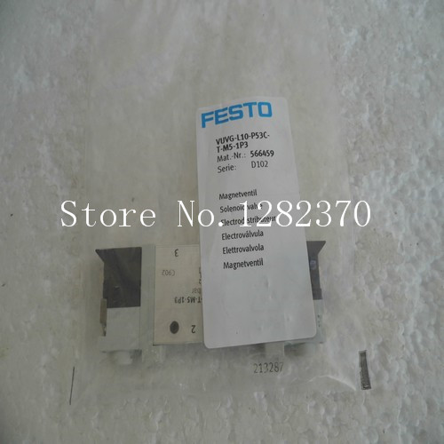 цена на New original authentic FESTO solenoid valve VUVG-L10-P53C-T-M5-1P3 spot 566459