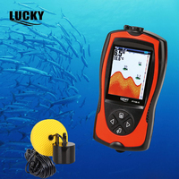 Lucky FF1108 1CT Underwater Camera Portable Depth Sonar Sounder Alarm Waterproof Fishfinder Echo Sounder Fishing Fish