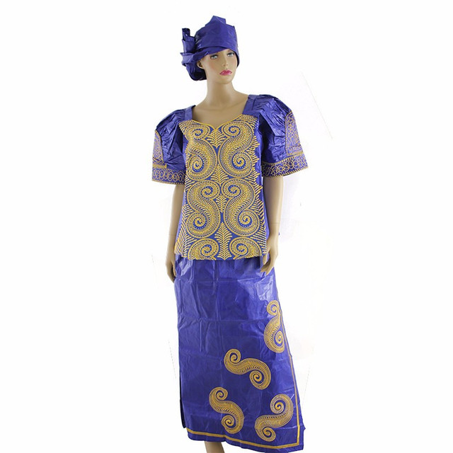aliexpress : buy african lady riche bazin dashiki 100% cotton