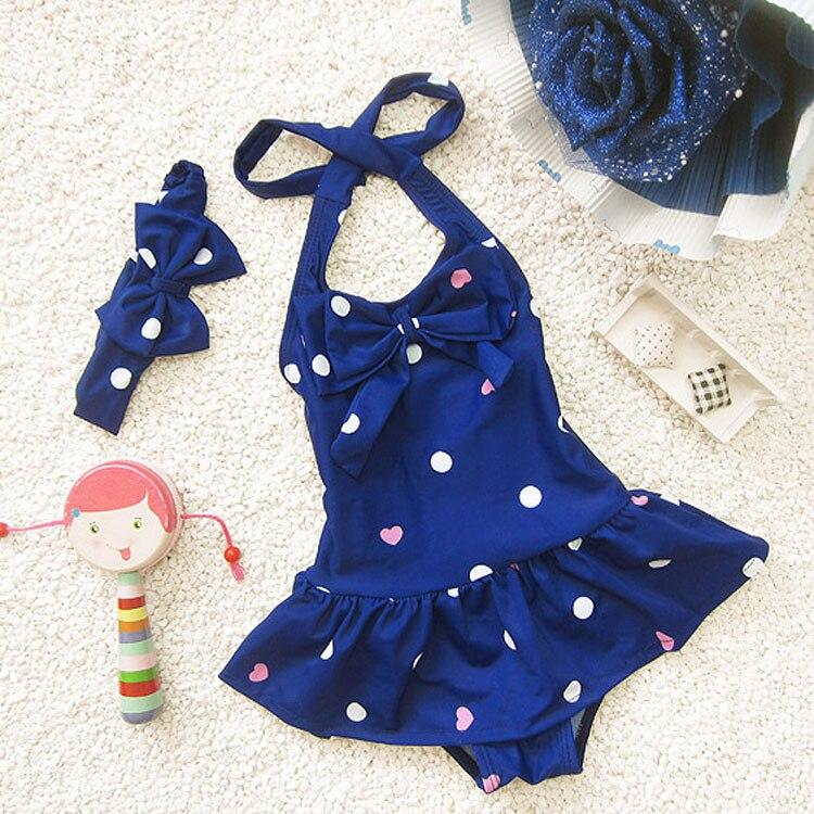 Dropwow Sunny Eva Girls One Piece Swimwear Bikini Meisje Childrens