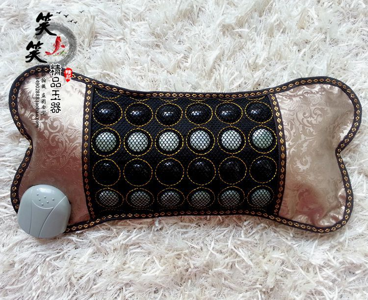 2016 Massage Electric Tourmaline Heating Cushion Jade Massage Cushion Healthy Heating Office Cushion For Sale Free Shipping newest drivers car massage cushion seat jade heating kneading massage cushion free shipping
