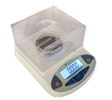 Cheaper 500 x 0.001g Digital Lab Analytical Balance Laboratory Scale Jewelery Electronic w/ LCD display Weight Sensor
