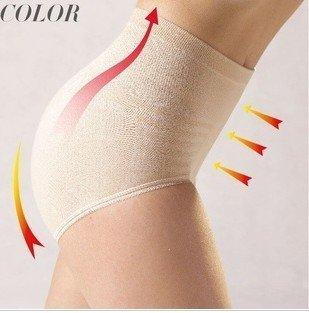 FREE SHIPPING BY EMS Lift the buttocks abdomen in pants triangular pants lady  waist belt high waist model body underwear