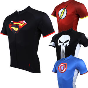 Cycling Clothes men Quick-Dry Short Sleeve Ropa Ciclismo Hombre Batman  SpiderMan f3fb4c373