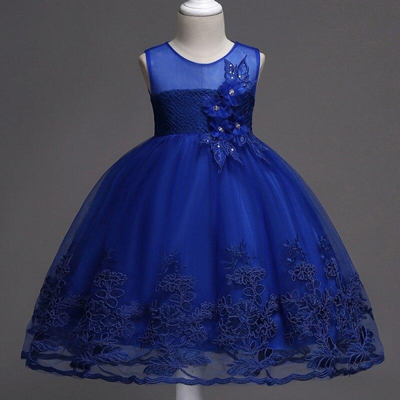 bf7dfb638 Vestidos largos Vestidos Mujer sin mangas princesa Vestido De fiesta  Infantil desfile bebé Niñas Ropa Dropshipping