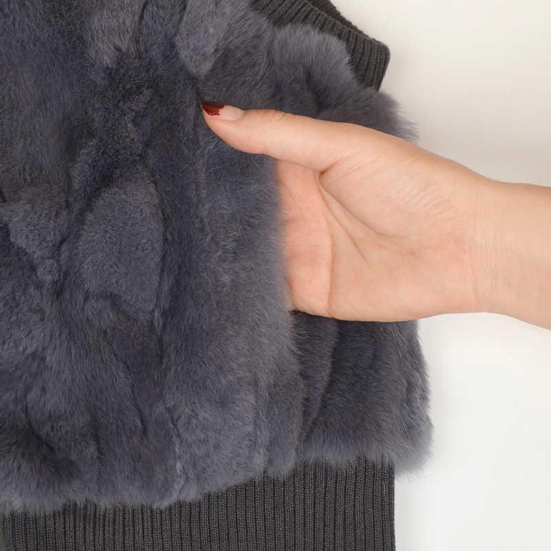 Kış Vizon Tilki Yaka Ceket Yelek Ceketler Kalınlaşmak Çocuk Boys Rex Tavşan Kürk Yelekler Çocuk Giyim Çin Gerçek Değer Deri