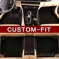 Custom Fit Car Floor Mats For Cadillac ATS CTS XTS SLS Escalade 3D Car Styling All