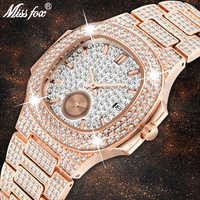 Montre Unique hommes marque de luxe Patek tendance hommes mode or Rose montre Quartz horloge chronographe diamant acier glacé montre