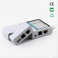 Free shipping !! NOYAFA NF 3368 Multifunction STP UTP Remote Cable Tester RJ45 RJ11 BNC Mini USB ports