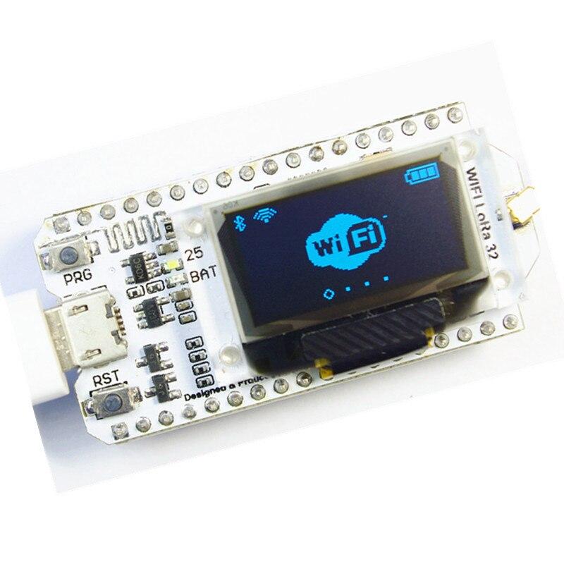 SX1278 LoRa ESP32 0.96 inch Blue OLED Display Bluetooth WIFI Lora Kit 32 Module Internet Development Board Antenna for Arduino