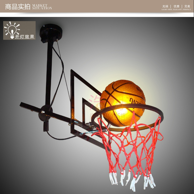 basketball football basketball stand head patent flexible adju pendant lamp LO844 football skills