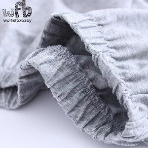 Image 3 - Lẻ 4 14 năm dài tay áo bông trẻ em của home mang nightdress chàng trai cô gái pajama lập mùa thu mùa thu phong cách cổ điển