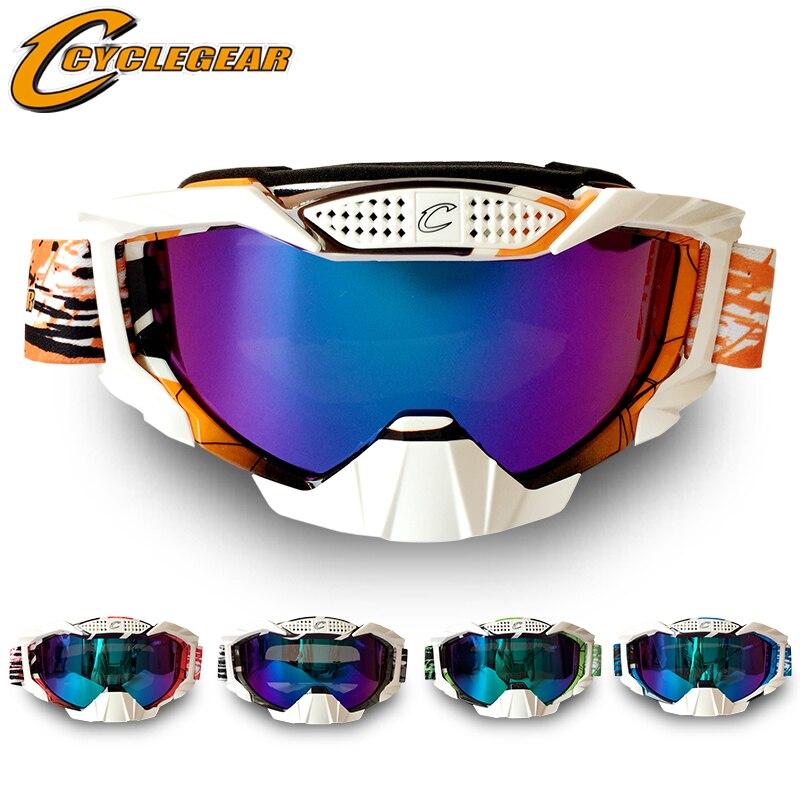 Haute qualité nouveau professionnel Cyclegear marque moto lunettes lunettes cyclisme course Gafas CS & Paintball bouclier visière CG07