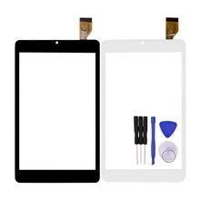 Negro Nuevo para 7 Pulgadas Tableta HSCTP-824-7-V0 Panel de Pantalla Táctil Digitalizador Del Sensor de Reemplazo de la Lente de Piezas