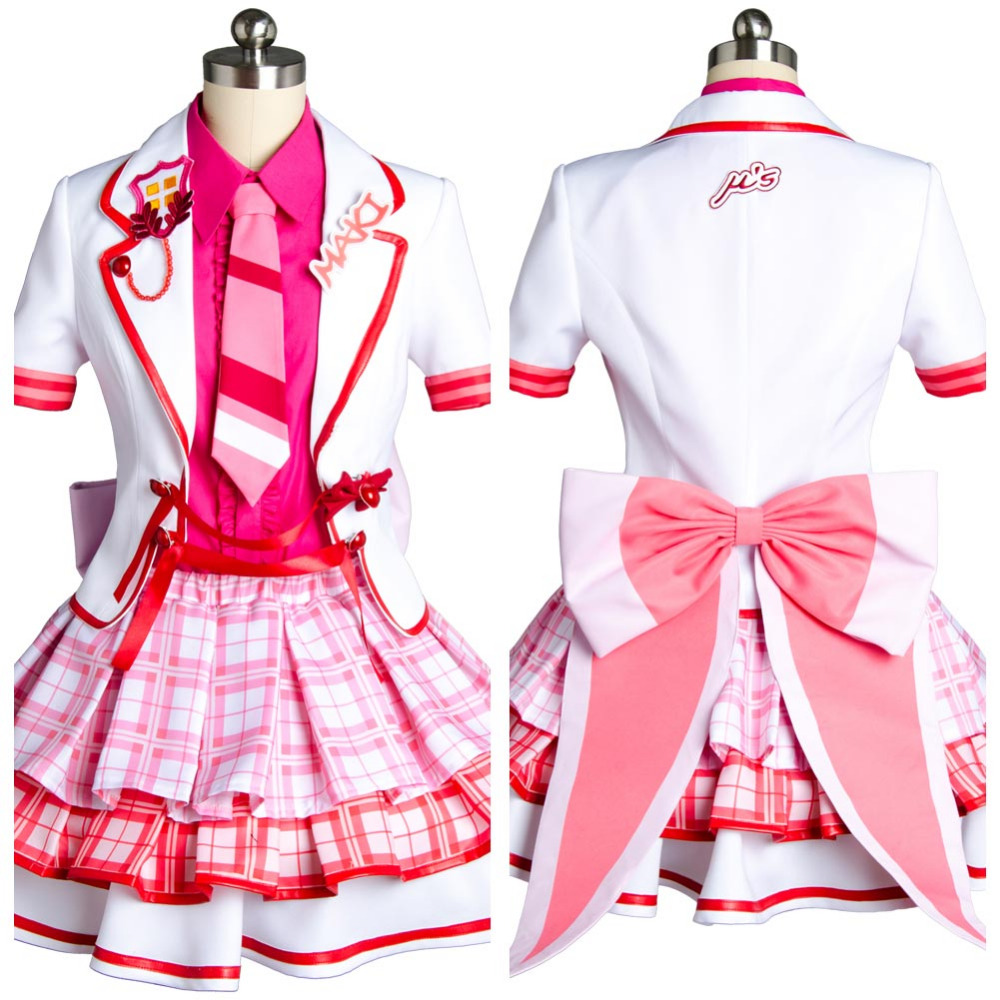 Love Live! Maki Nishikino After School Activity Dress Sexy Costume  Halloween Carnival For Adult Women