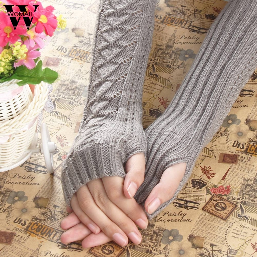 Amazig Long Mitten Gloves Women