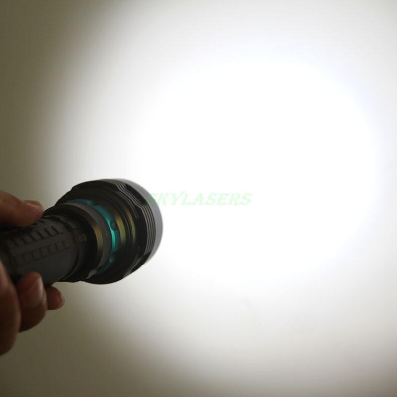 14000LM 70 w 7 * XM L2 LED Lanterna Mergulho Torch 200 m Subaquática À Prova D' Água LED Flash Light Lanterna + 3*26650 Baterias + Carregador - 4