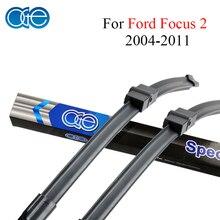 "Oge 26 ""+ 17"" Lâmina de Limpador Para Ford Focus 2 2004 2005 2006 2007 2008 2009 2010 2011 Carro de Alta Qualidade de Borracha Natural acessórios"