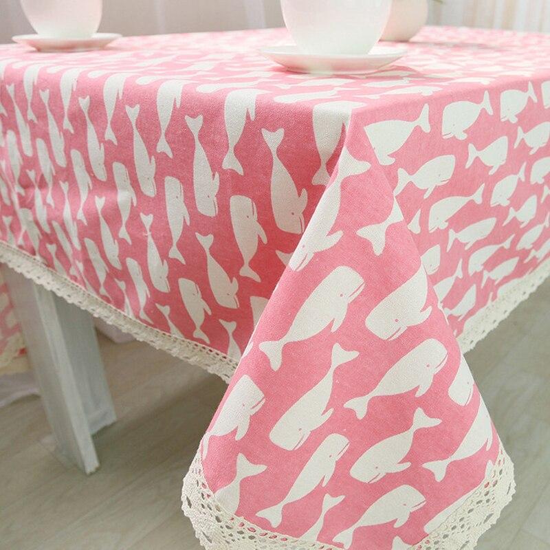 Cubierta de tabla Encaje mantel crochet Pegatinas para uñas Rosa ...