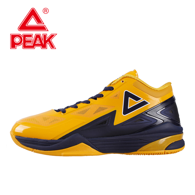 PEAK SPORT Lightning II Men Basketball Shoes Breathable Athletic Boots FOOTHOLD Cushion-3 Tech Competitions Sneakers EUR 40-50 peak sport hurricane iii men basketball shoes breathable comfortable sneaker foothold cushion 3 tech athletic training boots
