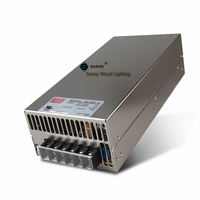 100 240Vac to 12VDC ,600W ,12V 50A UL Listed power supply ,LED screen ,monitor high power fact driver ,SE 600 12