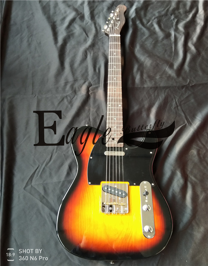 Eagle. Butterfly,  guitar,  bass, custom shop ,21 sunset tele electric guitar, rose xylophone neck, advanced customization.