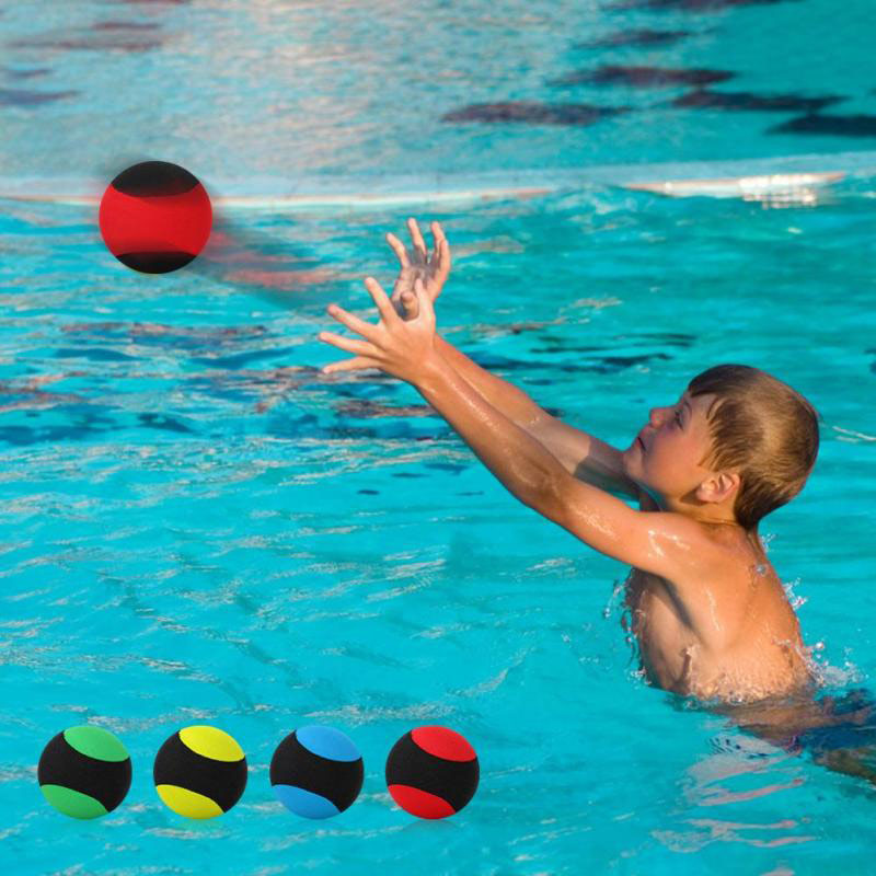 4 Color Matching Pool Floating Bouncing Ball Summer Swimming ...