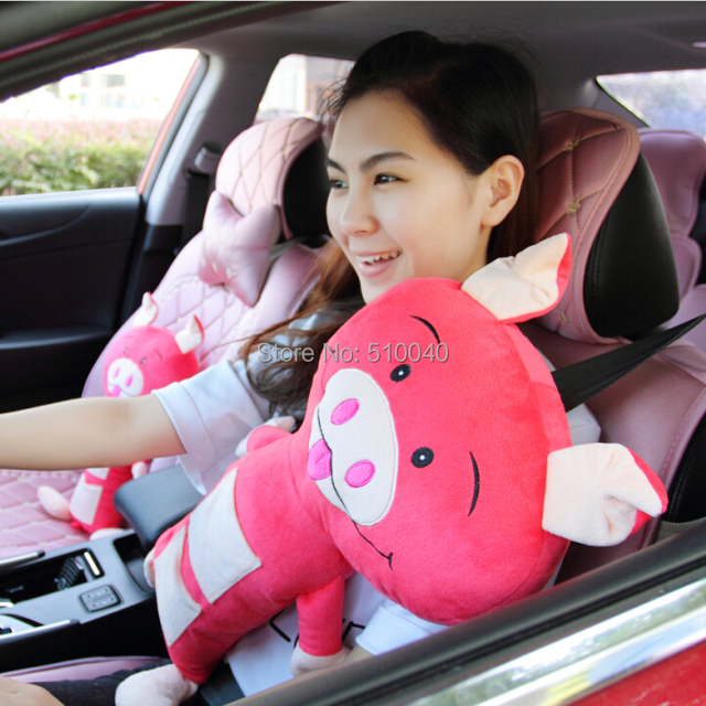 New Car Seat Pets Pillow Cat Seat Belt Cover Child Pig Seat Petsfree Mesmerizing Pillow Pet Seat Belt Cover