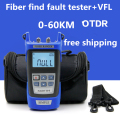 Optical Fiber Ranger OTDR Principle Tester Meter KING-17 FTTx Network Fiber Optic FTTH Tool Kit Visual Fault Locator