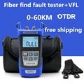 Optical Fiber Rangers Princípio OTDR Tester Medidor KING-17 Rede FTTx FTTH Kit de Ferramentas De Fibra Óptica Localizador Visual de Falhas