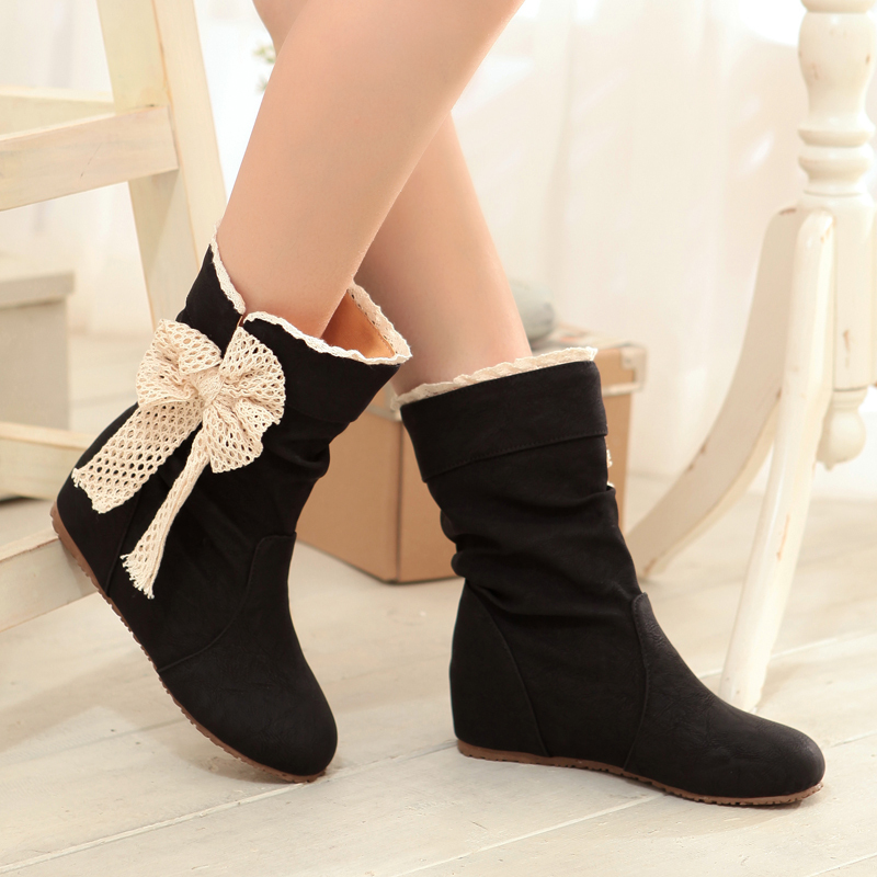 Aliexpress.com : Buy New 2014 Spring Autumn Short Boots Women's ...