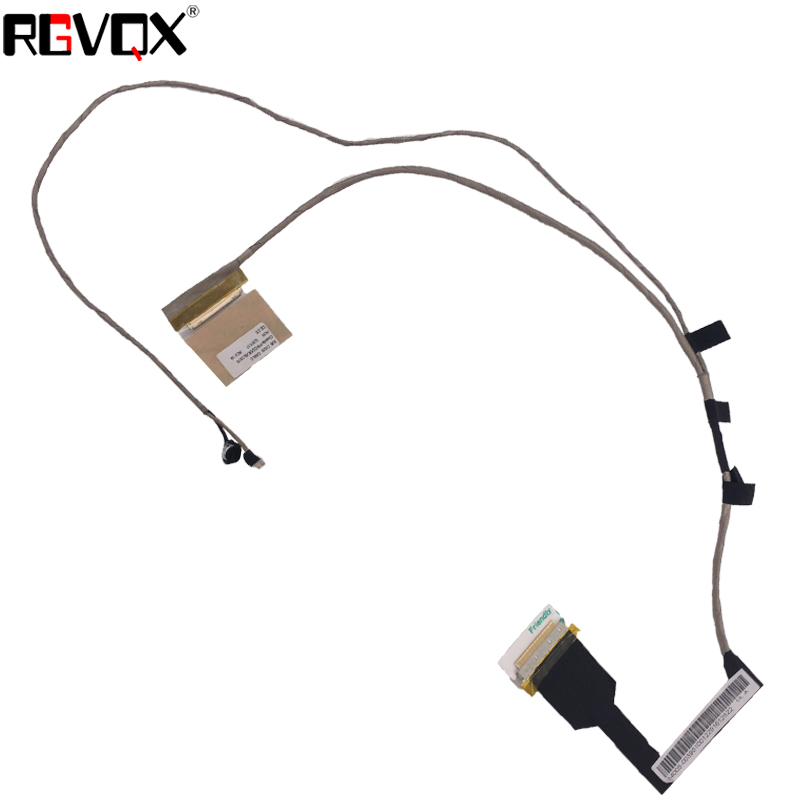 New Laptop Cable For ASUS X301A X301 XJ6 PN:DD0XJ6LC010 DD0XJ6LC000 Repair Notebook LCD LVDS CABLE