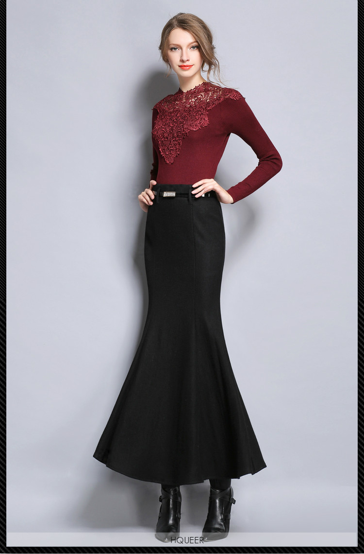 6fc2738d04 Large Size Long Skirts