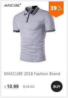 8ba34e92 MASCUBE Hot Sale 2018 Fashion Brand Men Polo Shirt Solid Color Pockets  Long-Sleeve Slim Fit Shirt Men Cotton Polo Casual ShirtsUSD  11.96-14.90/piece
