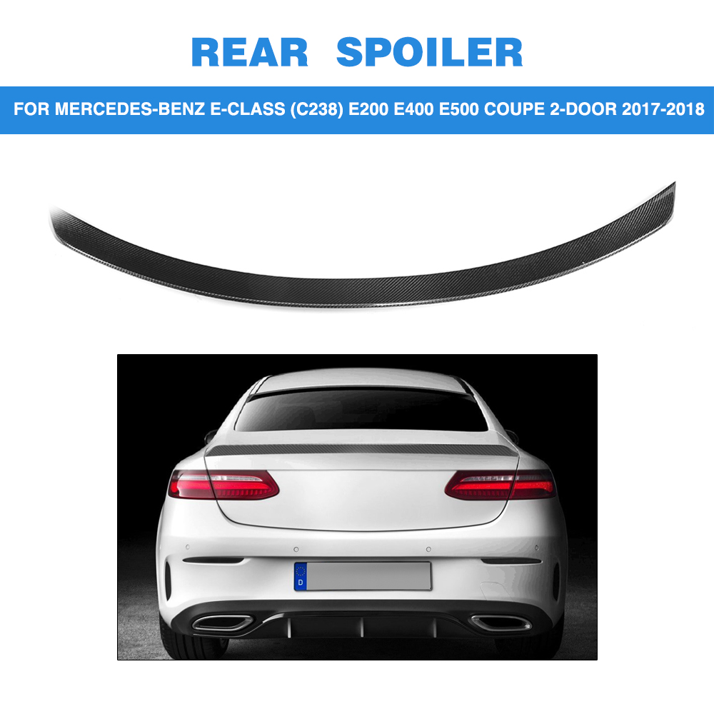 2018 Mercedes Benz E400 Coupe Review: ML Style Carbon Fiber Car Rear Boot Wing Lip Spoiler For