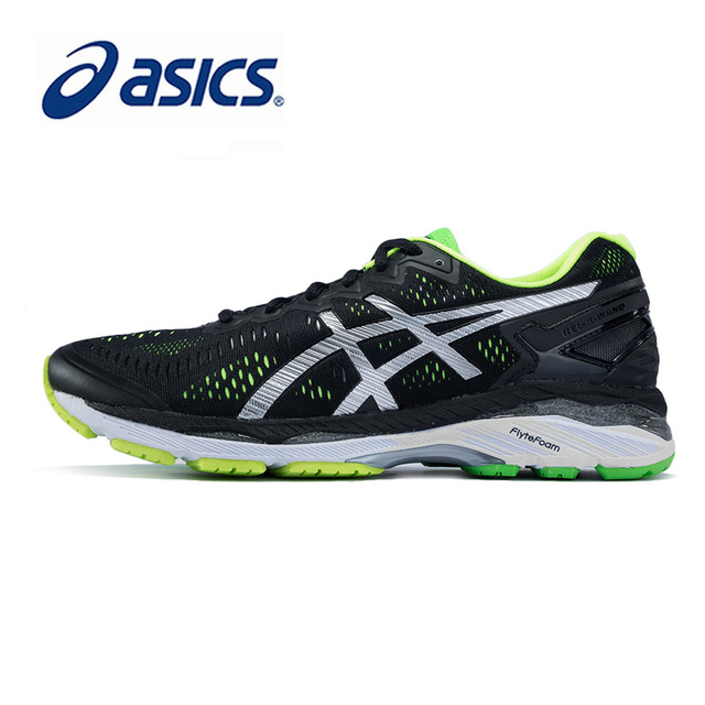 buy popular 575cc 248d9 US $97.21 27% OFF|Original ASICS Men Shoes DMX GEL KAYANO 23 Breathable  Cushion Running Light Weight Sports Shoes Sneakers Outdoor Walking T646N-in  ...